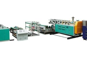Three Layers Co-extrusion CPE/CPP Transparent Film Production Line