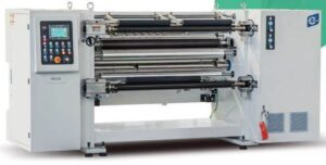 Máy Chia Cuộn Màng Nhựa Tự Động KSF-PC 300m/phút